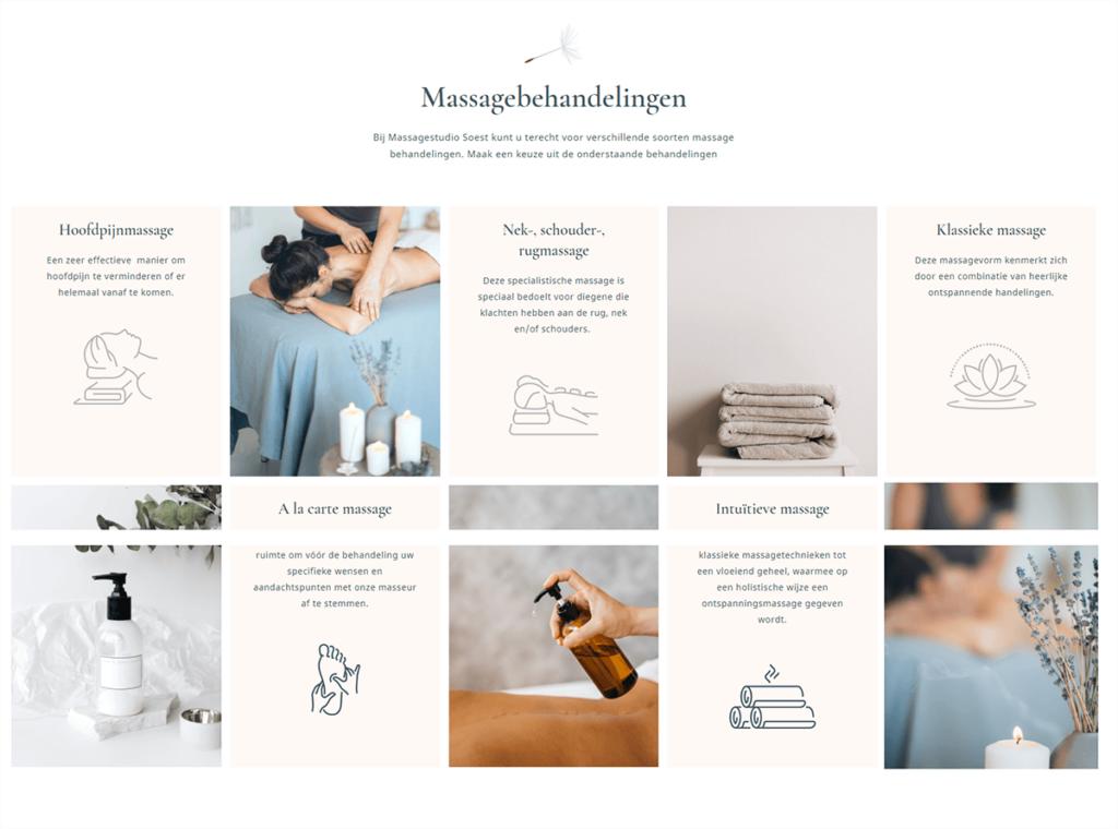 Massagestudio Soest Portfolio 2