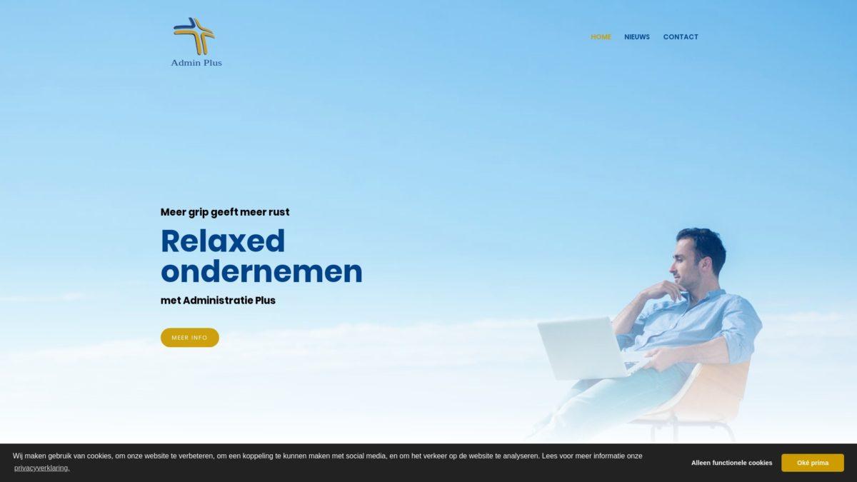 Administratie Plus E-Markers webdesign