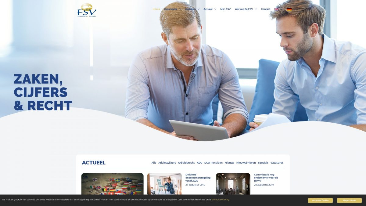 E-Markers Portfolio | FSV Accountants + Adviseurs