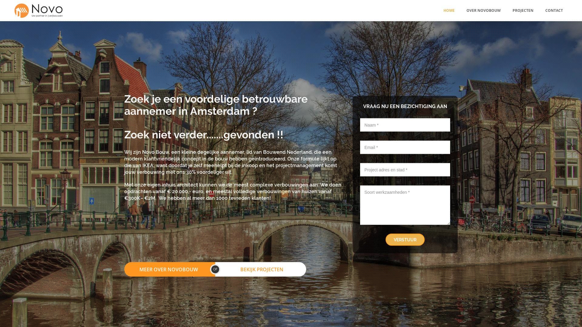 Portfolio E-Markers | Novobouw Amsterdam