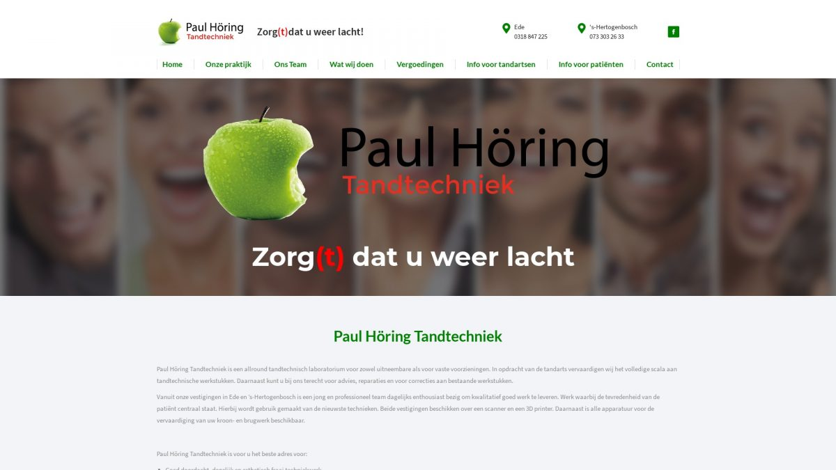Portfolio E-Markers | Paul Höring Tandtechniek