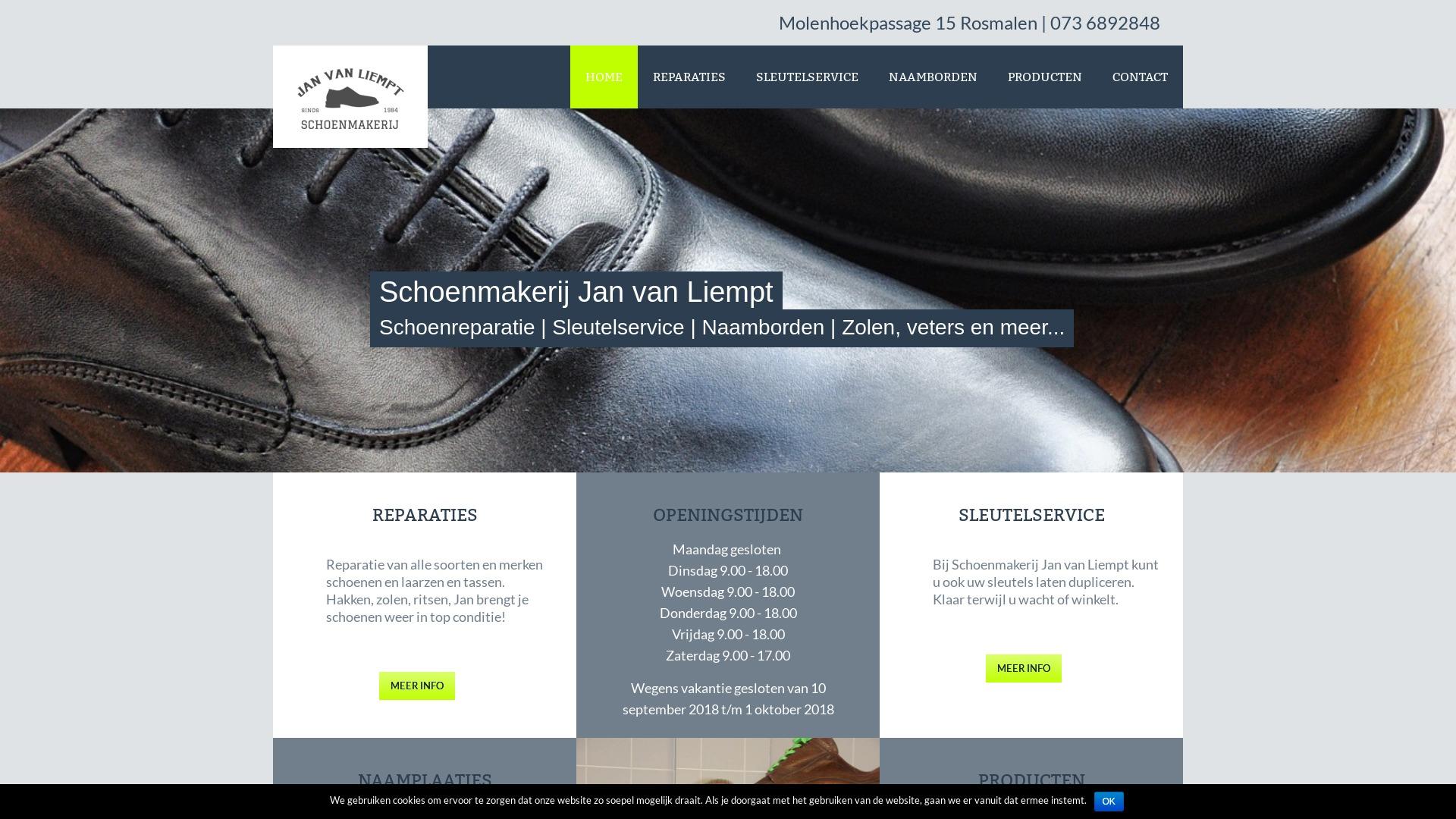 Portfolio E-Markers | Schoenmakerij Jan van Liempt