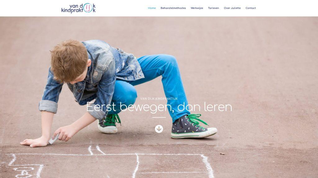 Van Dijkkindpraktijk E-Markers webdesign