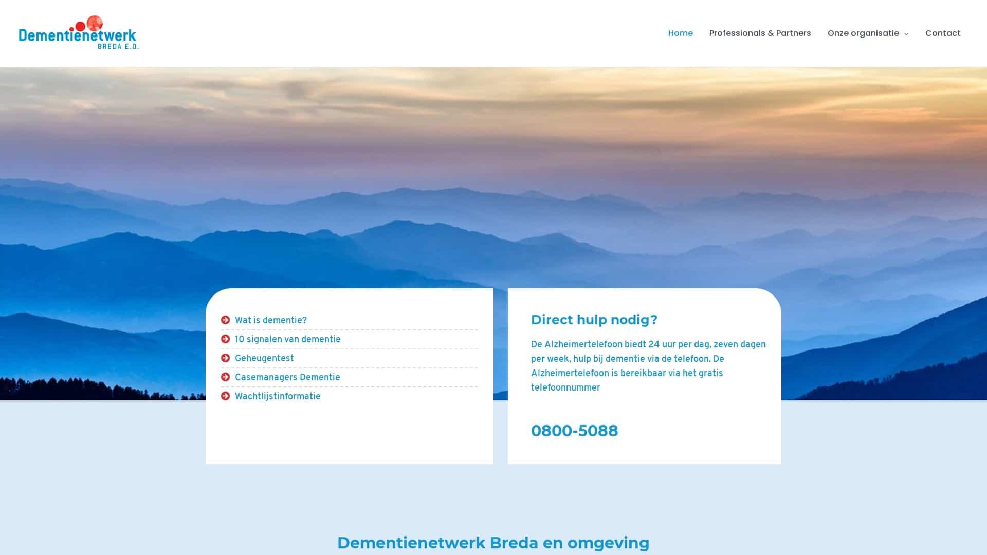 Portfolio E-Markers - Dementiezorg Breda
