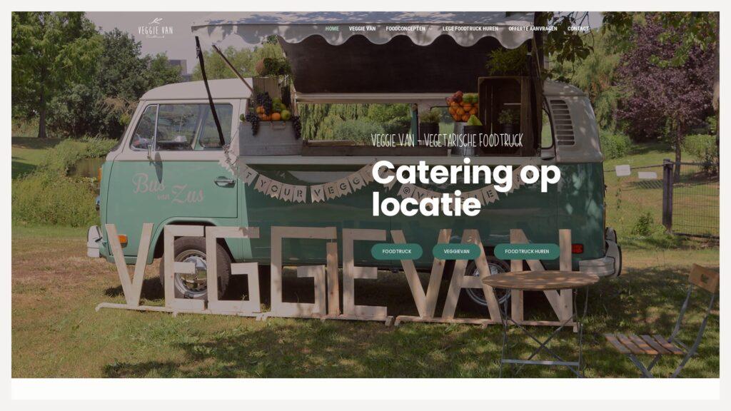 Portfolio E-Markers | Vegetarische Foodtruck