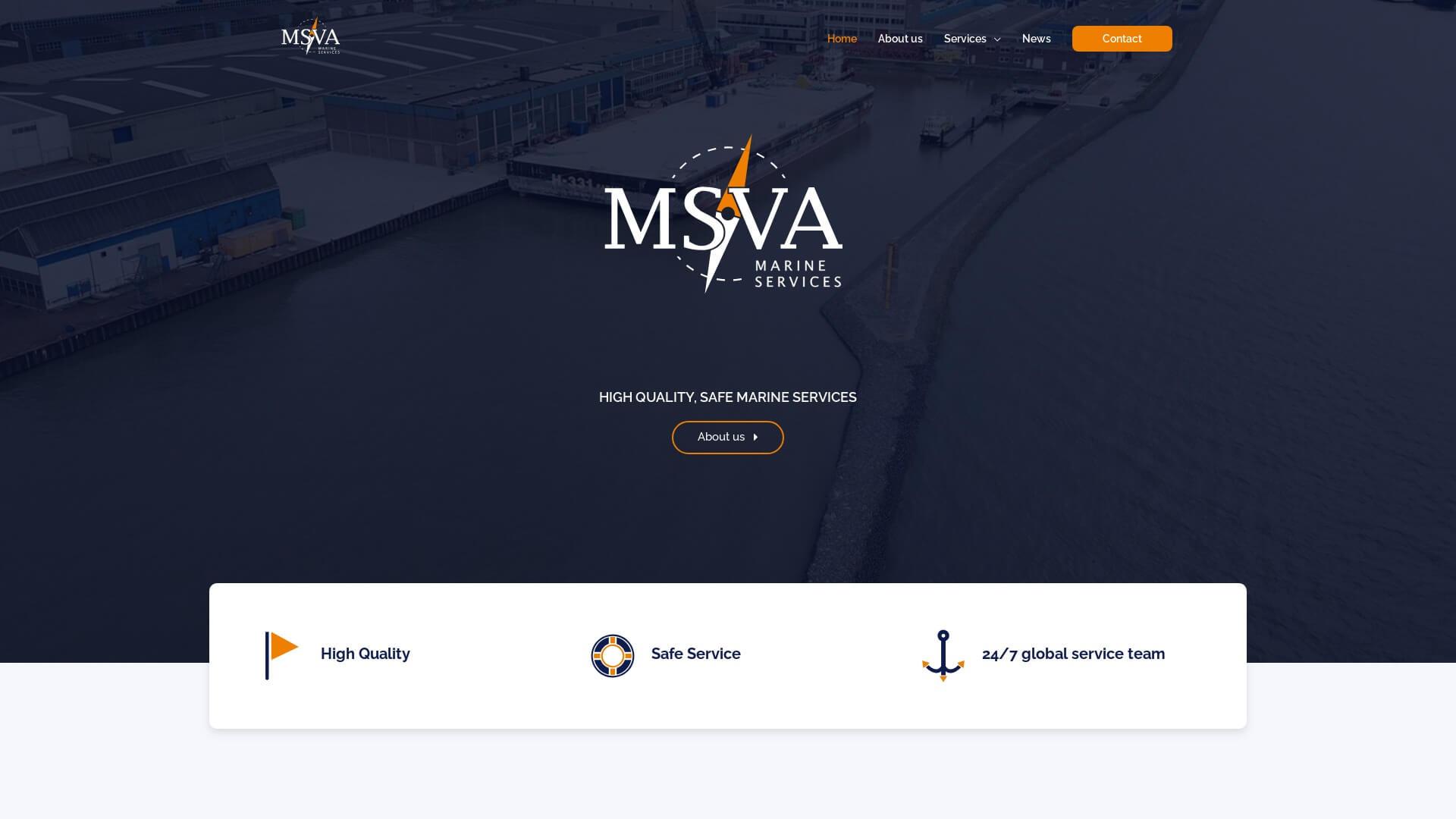 MSVA Marine Services | Portfolio E-Markers