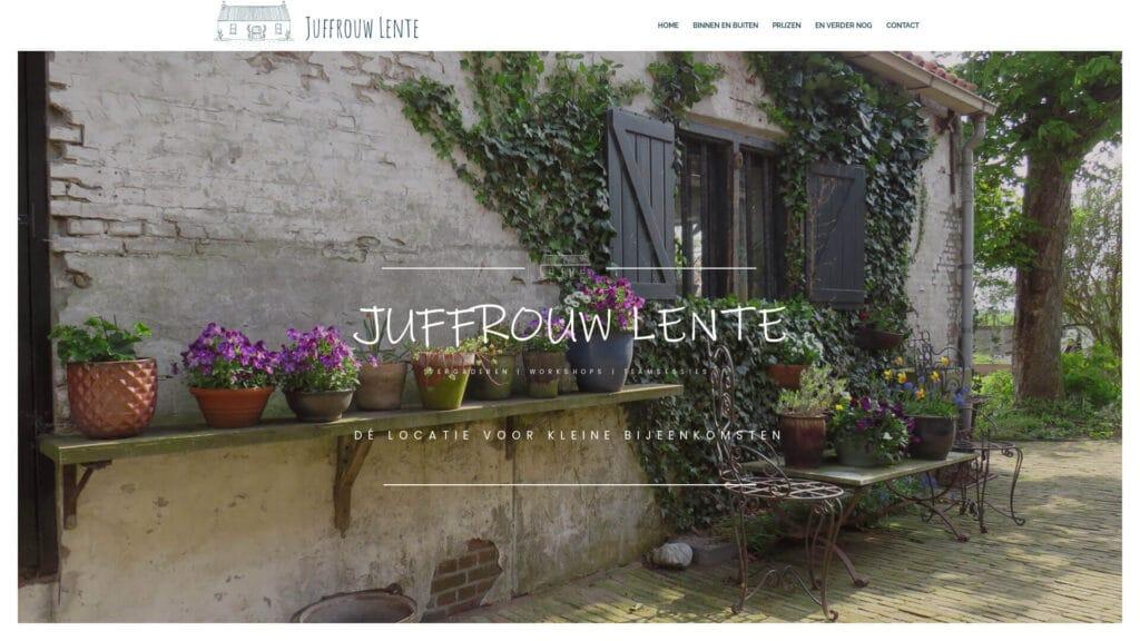 Portfolio E-Markers Juffrouw Lente
